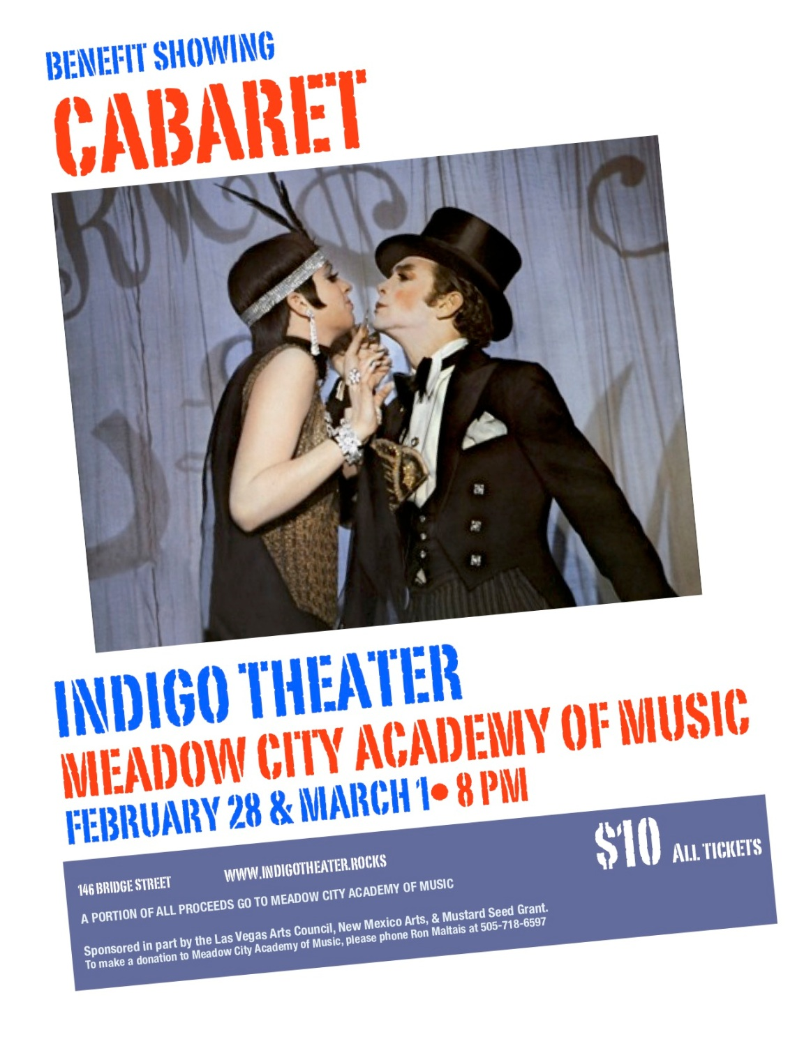 Meadow City Academy of Music Benefit Cabaret