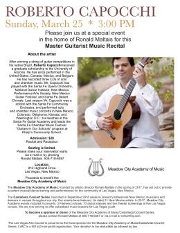 Meadow City Academy of Music Roberto Capocchi
