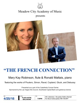 Meadow City Academy of Music The French Connection Concert Program
