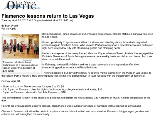 20170425_Optic_Flamenco lessons return to Las Vegas_pic