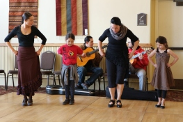 Flamenco Lessons at the Plaza Hotel with EmiArteFlamenco