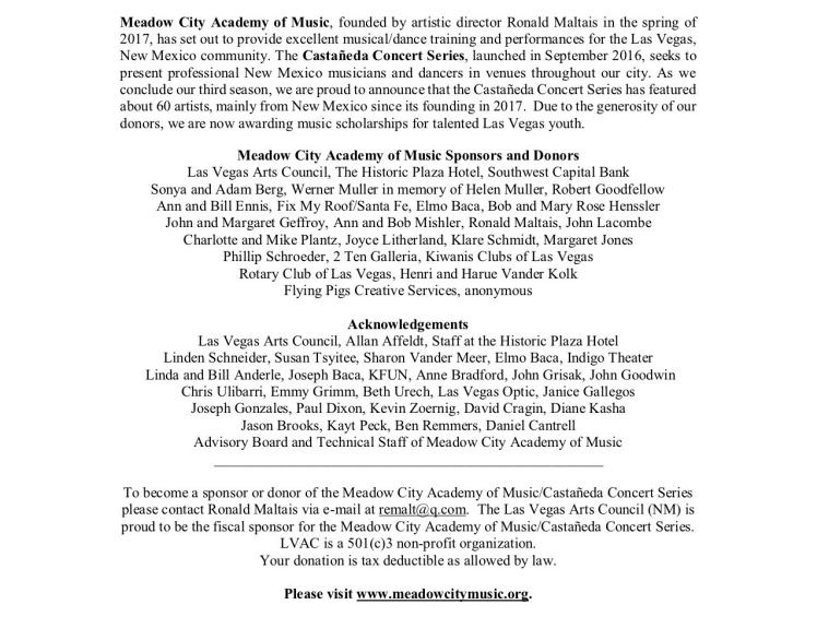 Emi Arte Flamenco Program pg 2