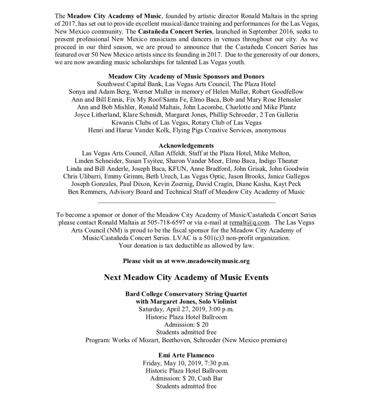 Tanyaradzwa Tawengwa Recital pg 5